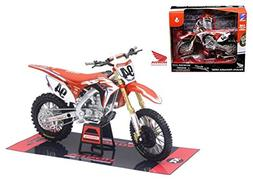 "NEW 1:12 NEW RAY MOTORCYCLES COLLECTION - Honda CRF450R ""Ken"