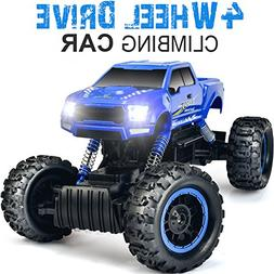 DOUBLE E 1:12 RC Cars Monster Truck 4WD Dual Motors Recharge