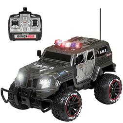 Best Choice Products 1:12 27Mhz Remote Control Police SWAT T