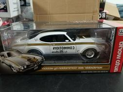 AUTO WORLD 1:18 1969 HURST OLDS 455 COMMOTION BY MOTION NHRA
