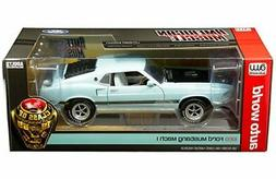 Auto World 1:18 American Muscle 1969 Ford Mustang Mach 1 Die