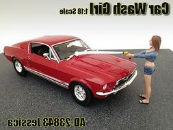 1:18 American Diorama Figure Car Wash Girl Jessica for your