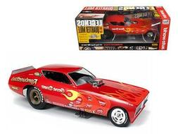 Auto World 1:18 Rambunctious 1971 Dodge Charger Funny Car AW