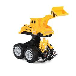E-SCENERY 1:3 Transformable Engineering Vehicles Toy Constru