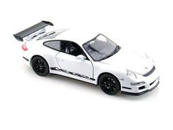 NEW 1:32 DISPLAY WELLY COLLECTION - WHITE PORSCHE 911  GT3 R