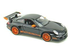 NEW 1:32 DISPLAY WELLY COLLECTION - BLACK PORSCHE 911  GT3 R