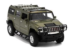 Berry President 1:32 Hummer H2 SUV Die Cast Toy Car Pull Bac