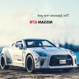 1:32 Nissan GTR Alloy Diecast Model Car Toy Vehicles For Chi