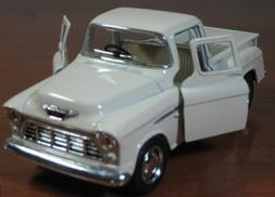 1/32 Scale 1955 Chevy Stepside Pick-up Truck Metal Diecast M