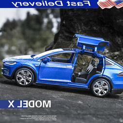 1:32 Scale Alloy Cars for Tesla Model SUV Car Sound & Light
