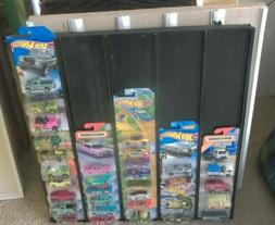 1:64 Diecast Car Display Case holds 50 Cars Hot Wheels Match