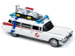 Johnny Lightning 1/64 Ghostbusters Ecto 1 1959 Cadillac Die-