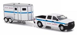 Greenlight 1:64 Hitch Tow 11 2017 Ram 2500 Horse Trailer - C