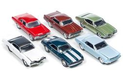 Auto World 1:64 Johnny Lightning Collection - Muscle Cars US