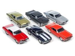 Auto World New 1:64 Johnny Lightning Collection - Muscle Car