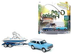 New 1:64 AUTO WORLD JOHNNY LIGHTNING GONE FISHING COLLECTION