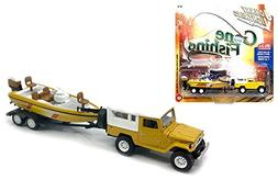 New 1:64 AUTO WORLD JOHNNY LIGHTNING GONE FISHING 2017 VERSI
