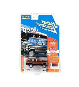 JOHNNY LIGHTNING 1:64 MIJO EXCLUSIVES CLASSIC GOLD 1981 JEEP