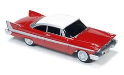 Auto World 1/64 Scale Christine 1958 Plymouth Fury Die-Cast