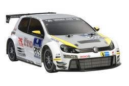 Volkswagen Golf Electric Rc Assembly Kit 24 1/10