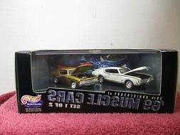 HOT WHEELS 100% 2 PACK 30TH ANNIVERSARY OF '69 MUSCLE CARS