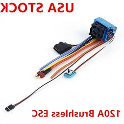 120A Brushless ESC Electric Speed Controller for 1/8 1/10 RC