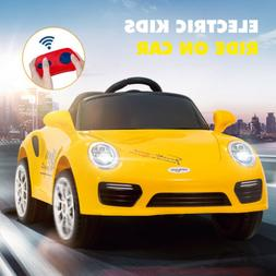 6V Motorized Vehicles Kids Ride On Car for Girls Boys with R