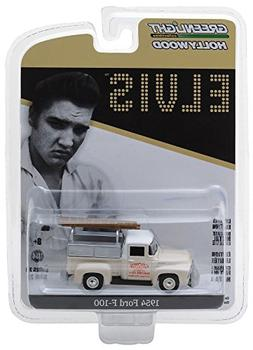 "1954 Ford F-100 Pickup Truck Cream ""Crown Electric Company"