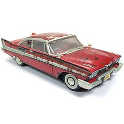 """1958 Plymouth Fury """"Christine"""" Dirty/Rusted Version 1/18 Die"""