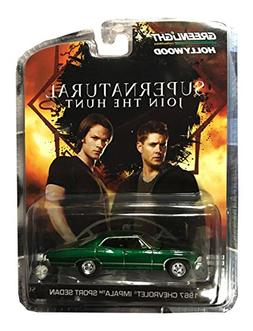 Supernatural 1967 Chevrolet Impala Sedan 4 DOOR 1:64 GREEN M