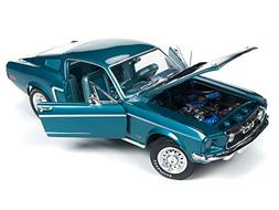 "1968 Ford Mustang GT 2+2 Aqua Blue""Class of 68"" 50th Anniver"