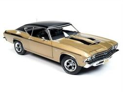 1969 CHEVROLET CHEVELLE YENKO HT 1/18 SCALE DIECAST CAR BY A