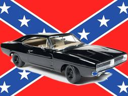 1969 DODGE CHARGER BLACK HAPPY BIRTHDAY GENERAL LEE 1:18 BY