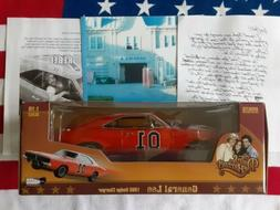 1969 DODGE CHARGER DUKES OF HAZZARD GENERAL LEE 1/18 MODEL C