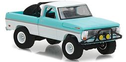 """1969 Ford F-100 Turquoise / White Pickup Truck """"All Terrain"""""""
