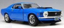 1970 Ford Mustang Boss 429 Yellow 1:24 Diecast Car
