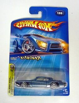 HOT WHEELS 1971 BUICK RIVIERA #007 Realistix Die-Cast Car MO