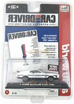 Auto World 1971 Ford Mustang Mach 1  1/64