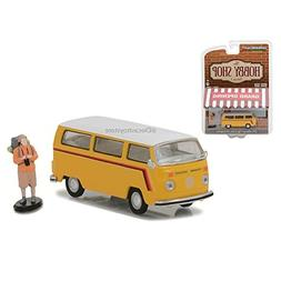 1975 Volkswagen Type 2 Bus Yellow with Backpacker The Hobby