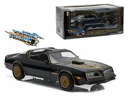 "1977 Pontiac Trans Am Black ""Smokey and the Bandit"" Movie 1/"