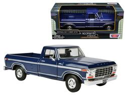 1979 Ford F-150 Pickup Truck Blue 1:24 Scale Collectible Die