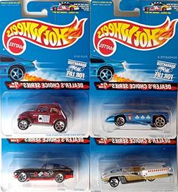 Hot Wheels 1996 Dealer's Choice Collector's Set with A Real