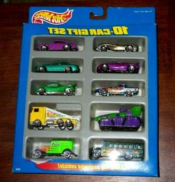 1997 Hot Wheels 10-Car Gift Set Toys-R-Us Exclusive 1:64 Sca