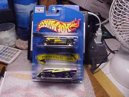 Hot Wheels 2 Car Pack JC Penny 100th Anniversary Old #3 & Sh