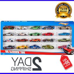 Hot Wheels 20 Cars Pack Brand New Standard Packaging Kids To