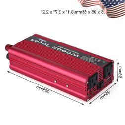 2000W Car Vehicle Power Inverter Converte DC 12V to AC 110V