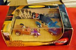2002 HOT WHEELS 100% LIMITED EDITION WILD WOOD  2 PACK FACTO
