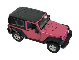 WELLY 2007 Jeep Wrangler Rubicon with Top 1:24 Diecast Car P