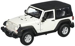 Welly 2007 Jeep Wrangler Rubicon with Top Diecast Car