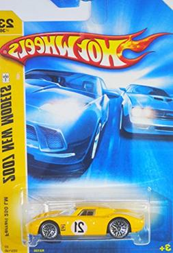 2007 Mattel Hot Wheels New Models - Yellow Ferrari 250 LM Di